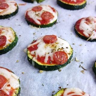 Zucchizza – Minipizza aus Zucchini