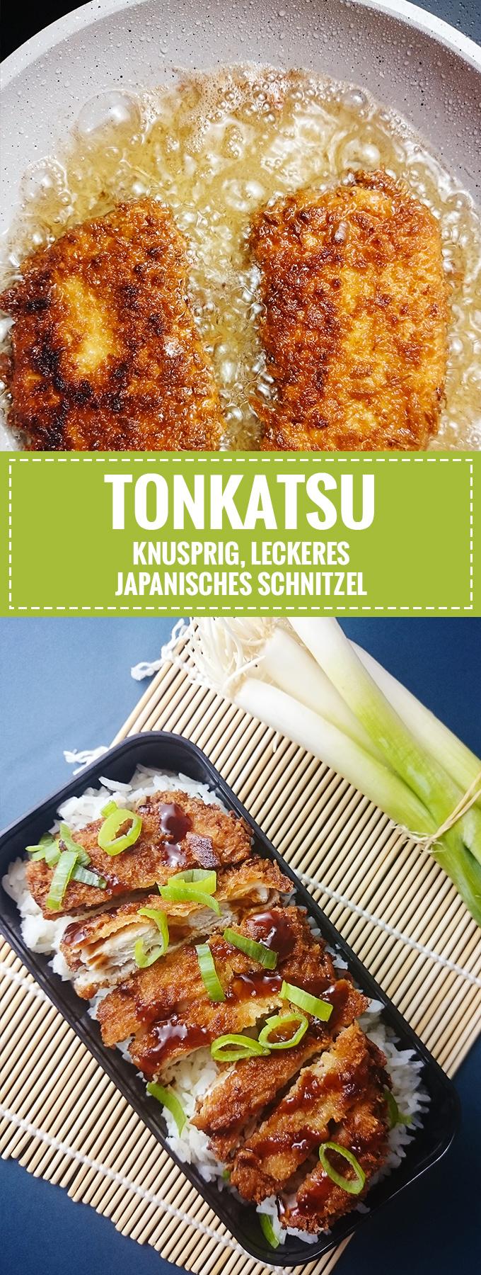 Tonkatsu – Knuspriges japanisches Schnitzel // Knabberkult.de