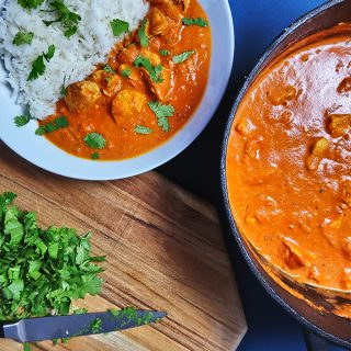 Winner Winner, Chicken Dinner! – Aromatisches Butter Chicken mit Reis