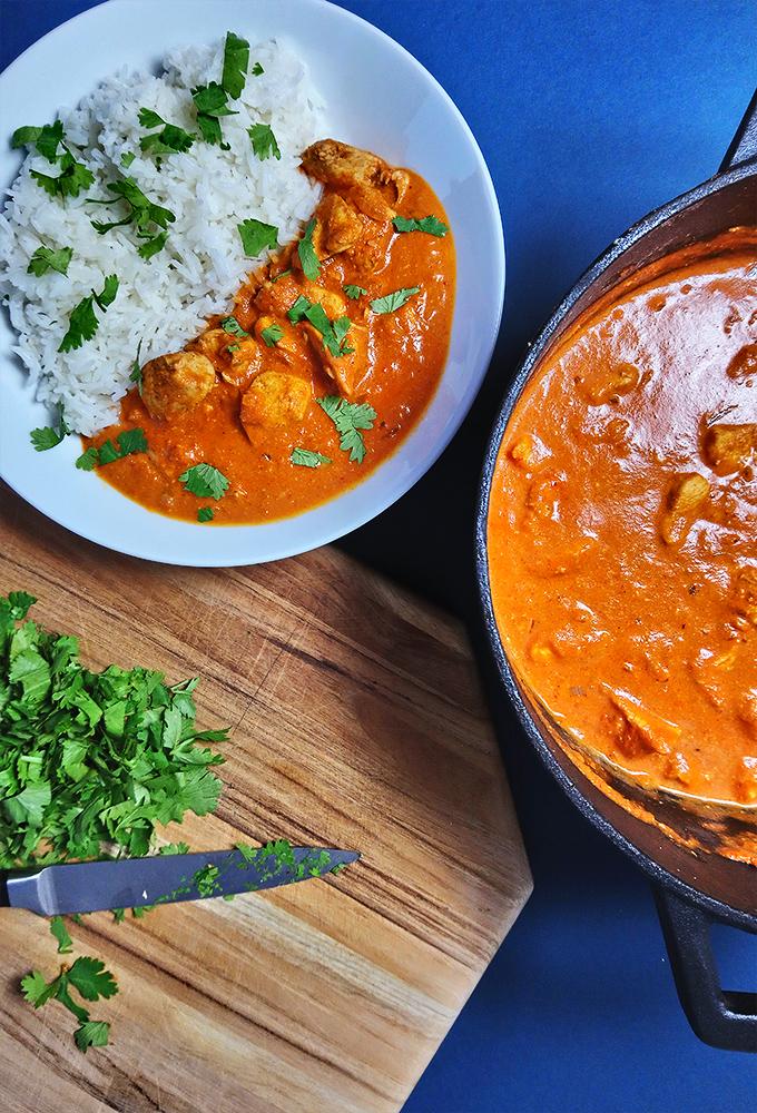 Indisches Butter Chicken // Aromatisch & Lecker // Perfekt für die Arbeit // Knabberkult.de