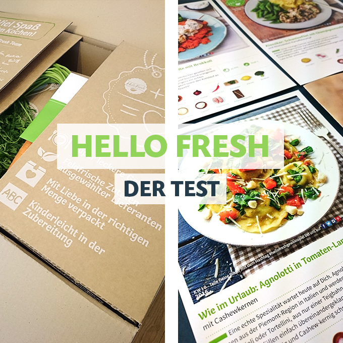 Hello Fresh Test und Erfahrungsbericht // Knabberkult.de