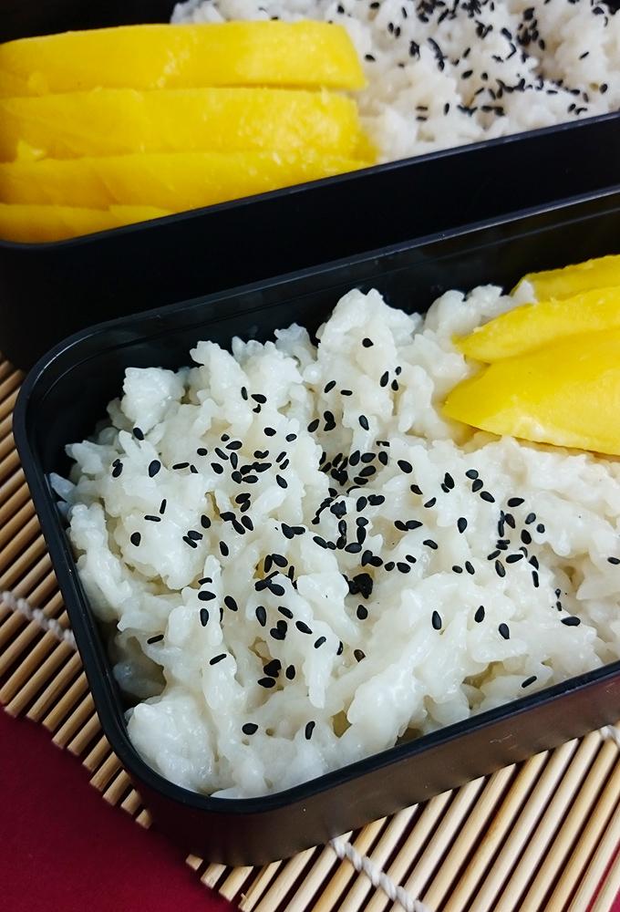 Lecker & Einfach // Kokosreis mit Mango // Thai Sticky Rice // Knabberkult.de
