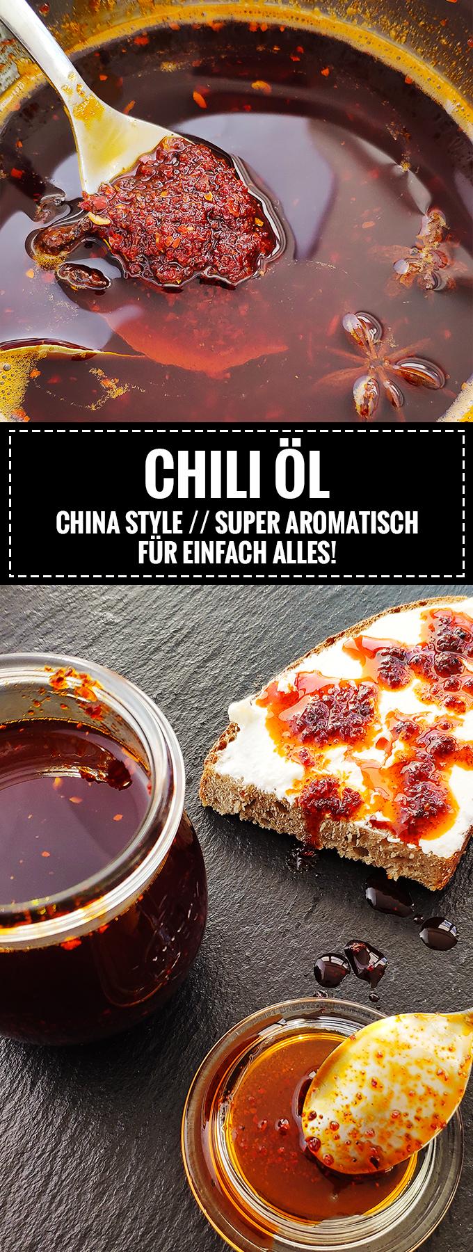 Super aromantisches Chili-Öl // Rezept auf Knabberkult.de