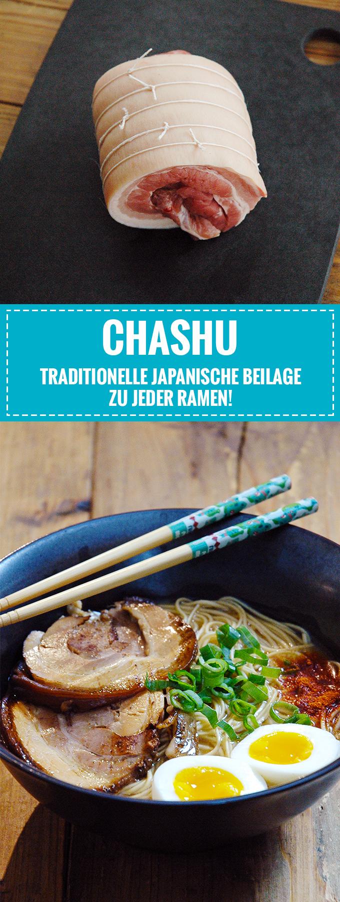 Chashu – Japanischer Schweinebauch für eure Ramen! // Rezept auf Knabberkult.de